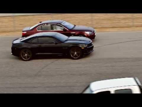 Bmw M5 Vs Camaro Ss Youtube