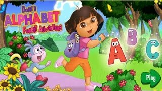 Dora the Explorer :Alphabet Forest Adventure games for kids full episodes English