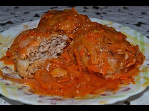 Тефтели с гречкой в томатном соусе.Гречаники.