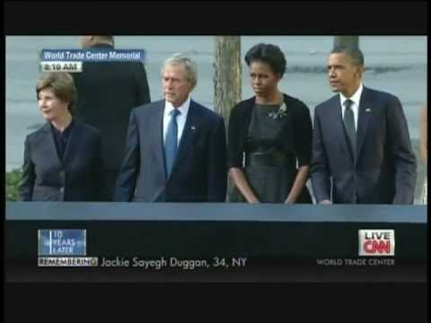 President Obama September 11 National  Memorial World Trade Center New York 10th Anniversary