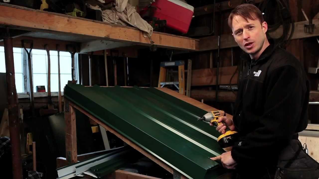 Exposed Fastener Panel Gable Trim Installation Denver