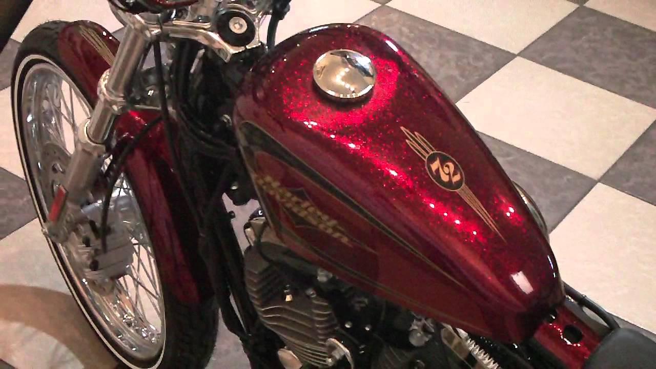 Seventy Two 72 Harley Davidson Motorcycle 2012 Xl1200v
