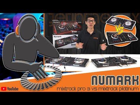 Steve LP- Numark Mixtrack Pro 3 Vs Mixtrack Platinum @ Getinthemix.com