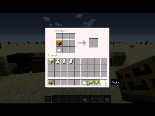 MINECRAFT - vyrábame a varíme . Koláčik a tortičku. Part.1