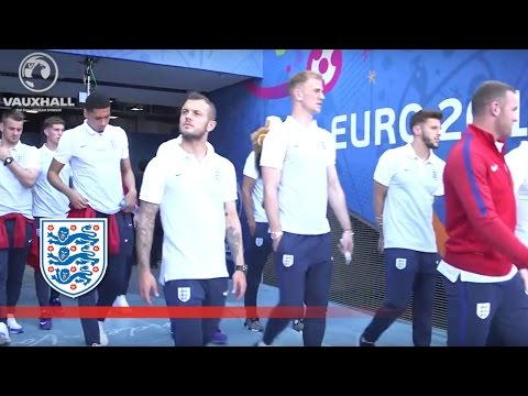 Wilshere, Hart, Smalling, Lallana - England visit Stade de Nice | Inside Access