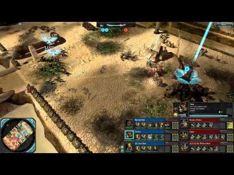 DoW2: Retribution — 3v3 | Faction War — Tyranids [vs] Orks | 4
