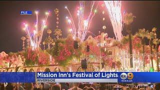 Mission Inn's Festival of Lights