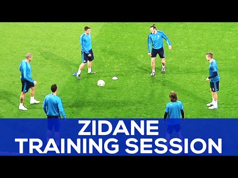 Cristiano has got CRAZY skills | Zidane plays with the ball | REAL MADRID NEWS