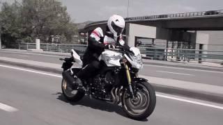 2010 Yamaha FZ8 brutal beauty Official movie