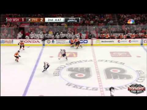 Game 60. Philadelphia Flyers vs Washington Capitals (22 february 2015)