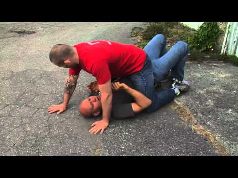 BJJ Self Defense Lesson 2: Escaping the Mount Image 1