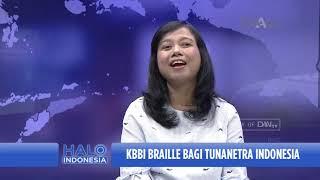 Talk Show Halo Indonesia | KBBI Braille Bagi Tunanetra Indonesia (3)