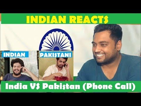 Indian Reacts | India VS Pakistan | Indian calling a Pakistani (ODF)| thumbnail