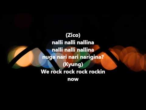 Block B - Nanrina Audio + Lyrics video