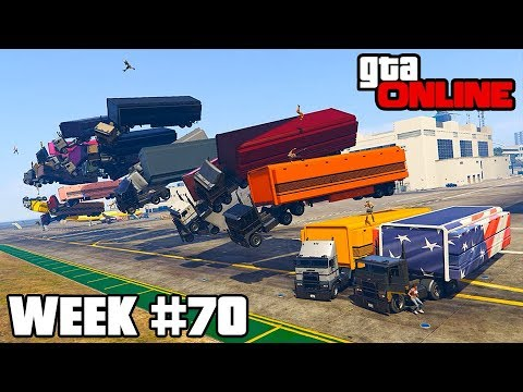 event highlights & funny moments || week #70 || gta online