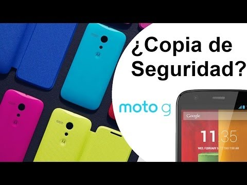 Moto G - Copia de seguridad y restauración sin root en Android (Backup). Tutorial [HD]