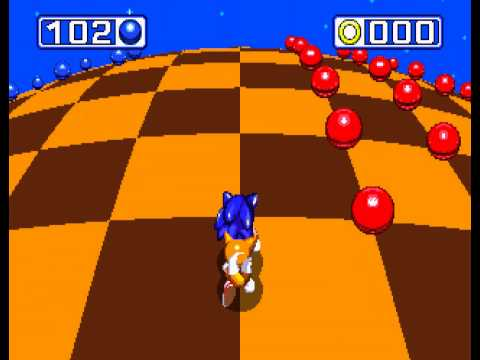 Sonic the Hedgehog 3 - Sonic the Hedgehog 3 - Sega Genesis - first chaos emerald and a perfect (all rings collected) - User video