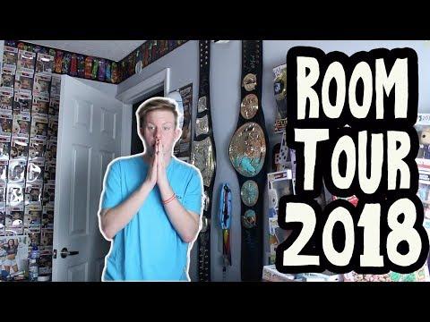 WWE ROOM TOUR 2018