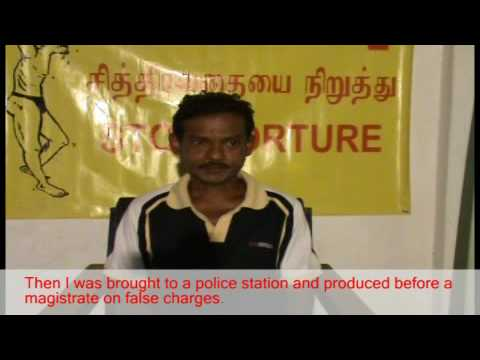 Torture victim in Sri Lanka for UN International Day against Torture - June 26 2009