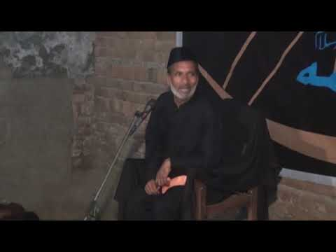 Molana Ghulam Qamar Ansari 9th Muharram 2018