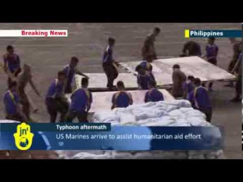 Typhoon Haiyan aftermath: US Marines arrive in Philippines to assist humanitarian aid effort