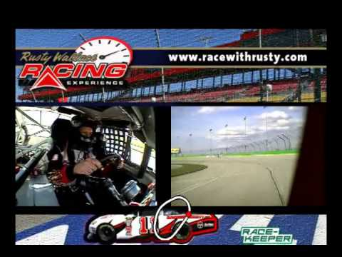 Rusty Wallace Racing Experience NASCAR Wreck Crash