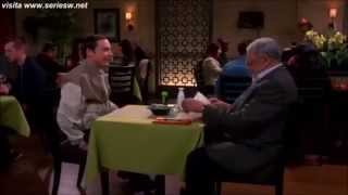 Sheldon Cooper y James Earl Jones subtitulado en español.