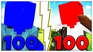 100 VS 100 BRAND NEW MINECRAFT MODDED CLAY SOLDIERS ISLAND BATTLE - Minecraft Mod