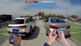 BMW vs Mercedes - remote drag race!
