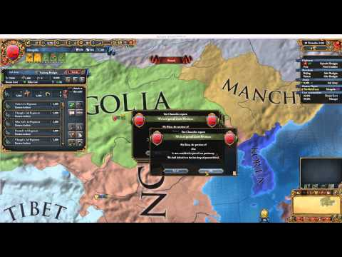 Europa Universalis IV: Great Khan Mongolia 1 - Tide is Rising