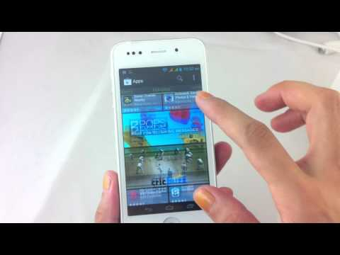 Hero H2000+ Smartphone Mtk6577 dual core 1Ghz unboxing skype viber review.