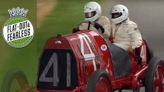 Pre-war cars at Goodwood