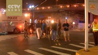 New blast jolts New Jersey train station