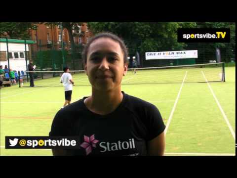 Heather Watson Interview - Fighting Back From Injury And The Loss Of Elena Baltacha
