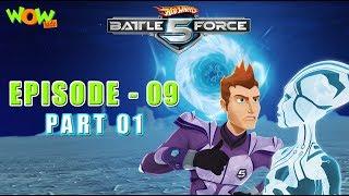 Motu Patlu presents Hot Wheels Battle Force 5 - Frenemy - Episode 9-P1 - in Hindi