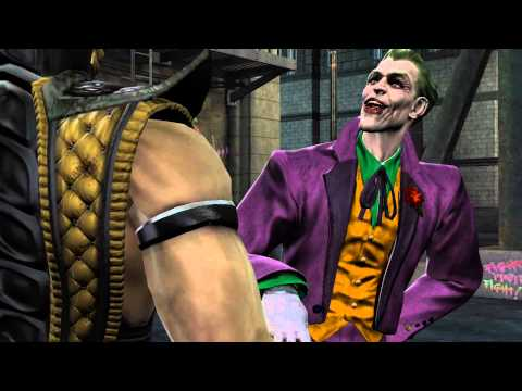 Scorpion meets The Joker