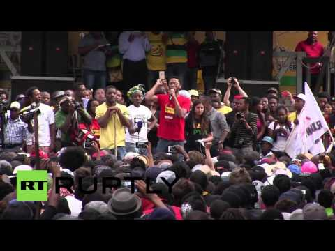 South Africa: Students protest tuition fee hike, demanding ANC action