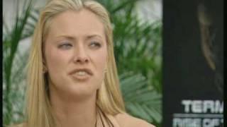 Kristanna Loken talks about her performance in the movie Terminator 3