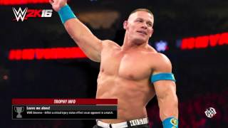 WWE 2K16 Banned Chris Benoit Caw
