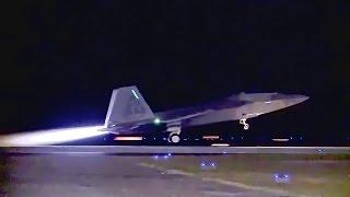 U.S. Sends F-22 Raptors To Europe