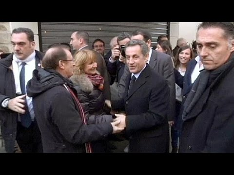 """نيكولا ساركوزي رئيسا جديدا لحزب """"التجمع من أجل حركة شعبية"""""""