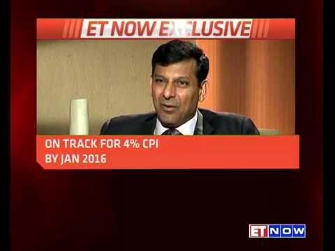 RBI Governor Raghuram Rajan To ET NOW | EXCLUSIVE