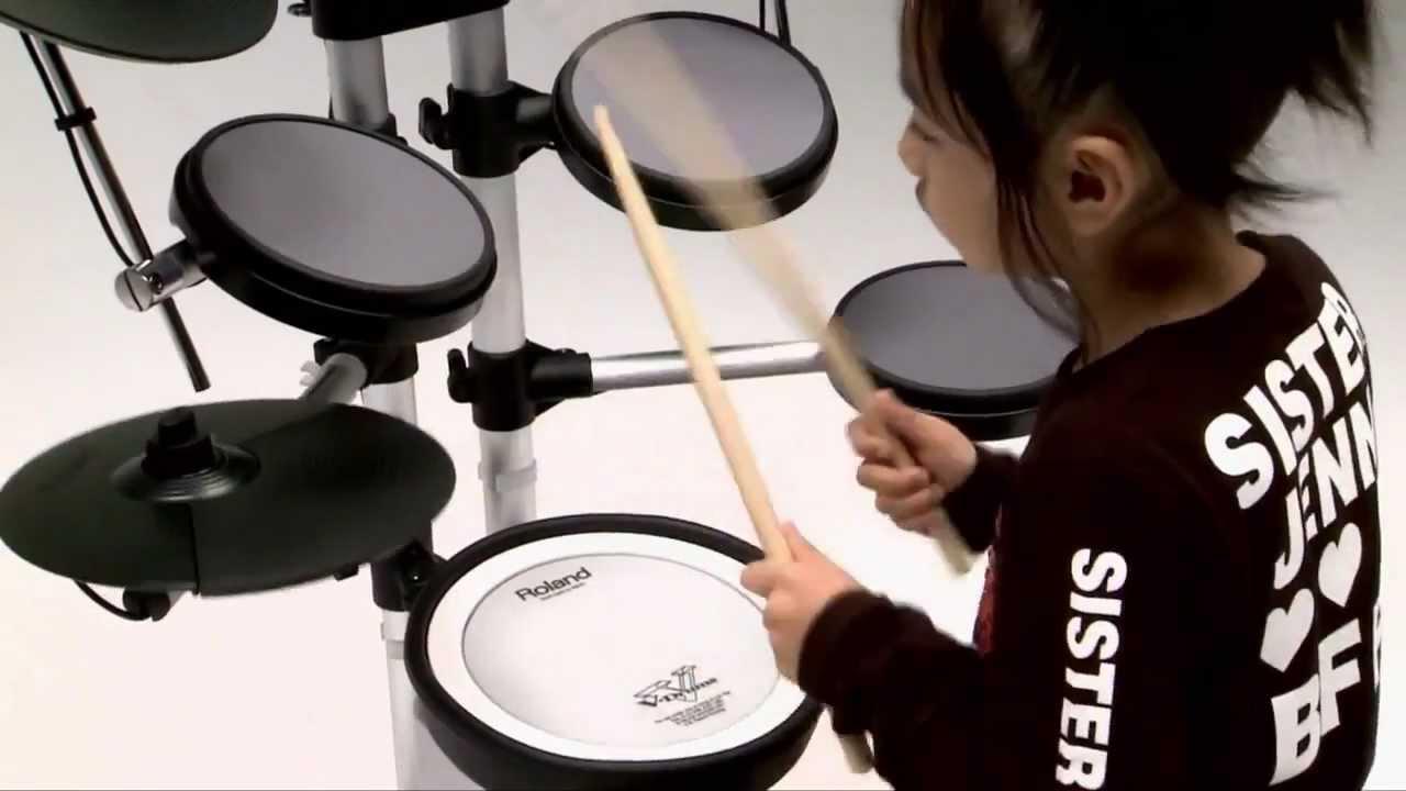 Roland hd 3 v drums lite electronic drum kit at youtube - Roland hd3 v drum lite set ...