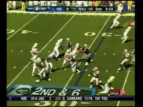 Jets QB #6 Mark Sanchez rookie highlights Video