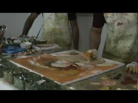 Pintura Mediúnica - Florêncio Anton