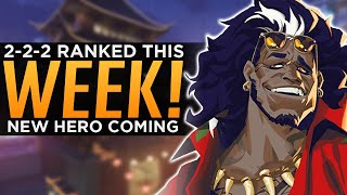 Overwatch: 2-2-2 Ranked Confirmed! - NEW Hero This Week!?