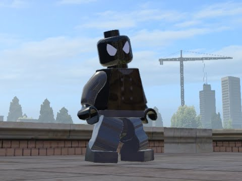 LEGO Marvel Superheroes - SPIDER-MAN NOIR FREE ROAM GAMEPLAY (MOD SHOWCASE)