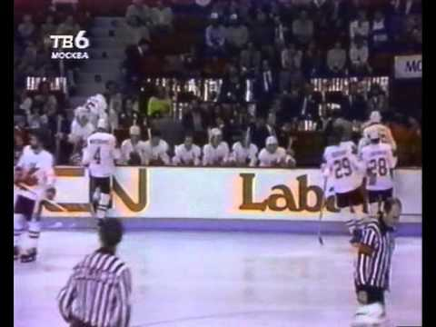 Кубок канады 1981 финал ссср канада 8 1