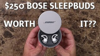 Bose Sleepbuds Unboxing and 1-Week Mini-Review: Is it worth $250?