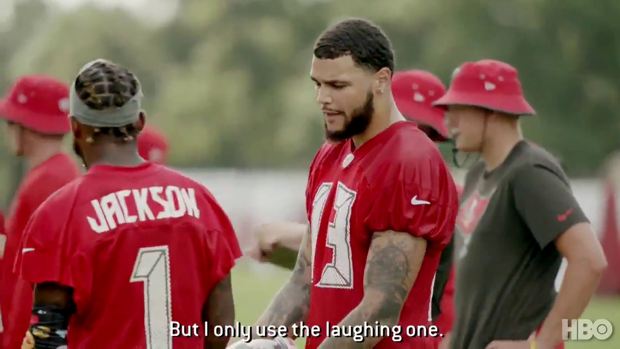 Desean Jackson Mike Evans Emojis Hard Knocks Youtube